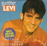 Cover Gunther Levi - Meisje van hierboven