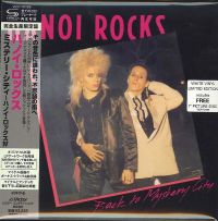 Cover Hanoi Rocks - Back To The Mystery City
