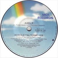 Cover Harold Faltermeyer - Axel F