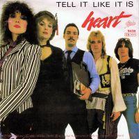Cover Heart - Tell It Like It Is