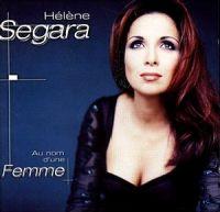 Cover Hélène Segara - Au nom d'une femme