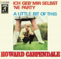 Cover Howard Carpendale - Ich geb' mir selbst 'ne Party