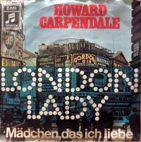 Cover Howard Carpendale - London Lady