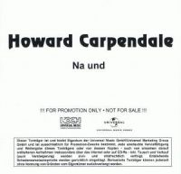 Cover Howard Carpendale - Na und
