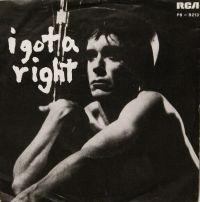 Cover Iggy Pop - I Got A Right