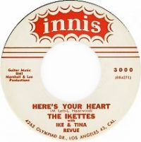 Cover Ike & Tina Turner - Here's Your Heart