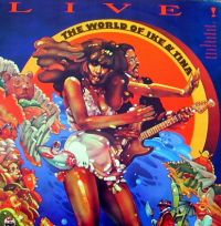 Cover Ike & Tina Turner - Live! The World Of Ike & Tina