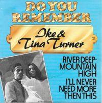 Cover Ike & Tina Turner - River Deep - Mountain High