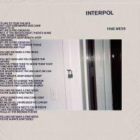 Cover Interpol - Fine Mess
