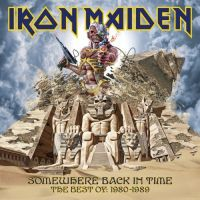 Cover Iron Maiden - Somewhere Back In Time - The Best Of: 1980-1989