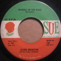 Cover Jackie Brensten With Ike Turner's Orchestra - Trouble Up The Road