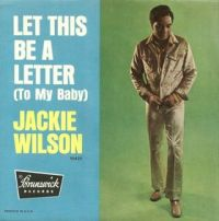 Cover Jackie Wilson - Let This Be A Letter (To My Baby)