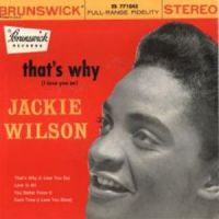 Cover Jackie Wilson - That's Why (I Love You So)