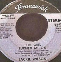 Cover Jackie Wilson - The Girl Turned Me On