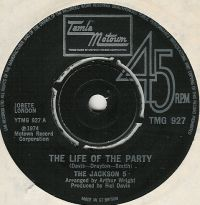 Cover Jackson 5 - The Life Of The Party
