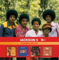 Cover Jackson 5 - x4CD: 4 Original Albums