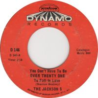 Cover Jackson 5 - You Don't Have To Be Over Twenty One To Fall In Love