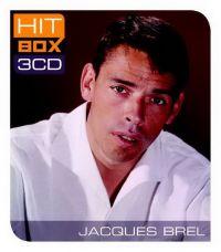 Cover Jacques Brel - Hit Box 3CD