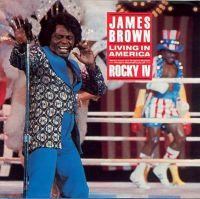 Cover James Brown - Living In America
