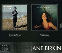 Cover Jane Birkin - 2cd Originals: Enfants d'hiver / Arabesque