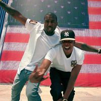 Cover Jay-Z & Kanye West - Throne 2