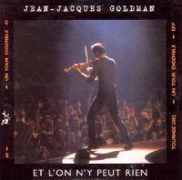 Cover Jean-Jacques Goldman - Et l'on n'y peut rien