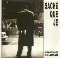 Cover Jean-Jacques Goldman - Sache que je