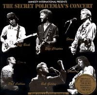 Cover Jeff Beck / Eric Clapton / Sting / Phil Collins / Bob Geldof / Donovan - Amnesty International Presents The Secret Policeman's Concert