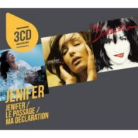 Cover Jenifer - 3cd originaux: Jenifer / Le passage / Ma déclaration