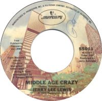 Cover Jerry Lee Lewis - Middle Age Crazy