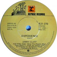 Cover Jimmy Cliff - Experience