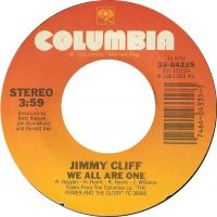 Cover Jimmy Cliff - We All Are One
