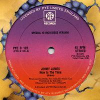 Cover Jimmy James & The Vagabonds - Now Is The Time