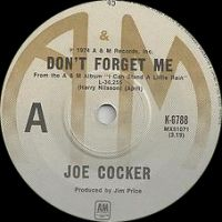Cover Joe Cocker - Don't Forget Me