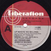 Cover Joe Cocker & Jennifer Warnes - Up Where We Belong