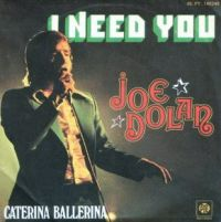 Cover Joe Dolan - I Need You