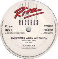 Cover Joe Dolan - Sometimes When We Touch