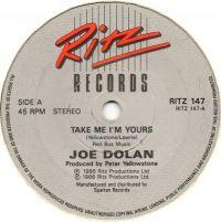 Cover Joe Dolan - Take Me I'm Yours