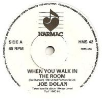 Cover Joe Dolan - When You Walk In The Room