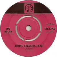 Cover Joe Dolan And The Drifters - Aching Breaking Heart