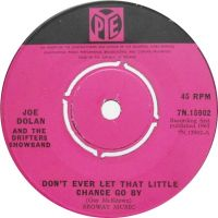 Cover Joe Dolan And The Drifters Showband - Don't Ever Let That Little Chance Go By