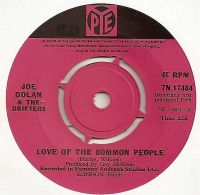 Cover Joe Dolan & The Drifters - Love Of The Common People