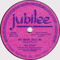 Cover Joe Foley - My Heart Tells Me
