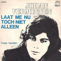 Cover Johan Verminnen - Laat me nu toch niet alleen