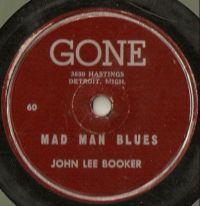Cover John Lee Booker - Mad Man Blues
