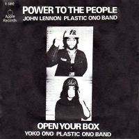 Cover John Lennon / Plastic Ono Band - Power To The People