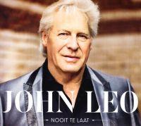 Cover John Leo - Nooit te laat
