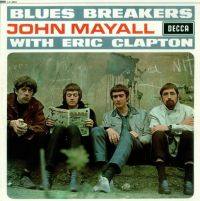 Cover John Mayall & The Bluesbreakers with Eric Clapton - Bluesbreakers