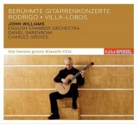 Cover John Williams / English Chamber Orchestra / Daniel Barenboim / Charles Groves - Berühmte Gitarrenkonzerte
