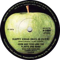 Cover John & Yoko / The Plastic Ono Band with The Harlem Community Choir - Happy Xmas (War Is Over)